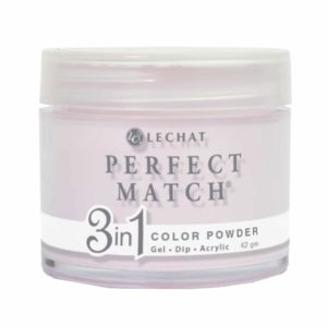 42 gram container of pink Perfect Match dip.