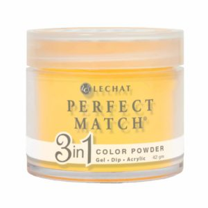42 gram container of yellow Perfect Match dip.