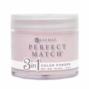 42 gram jar of Perfect Match three in one powder