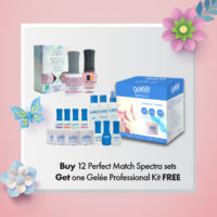 Buy 12 Perfect Match Spectra sets get 1 Gelée Professional Kit FREE