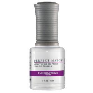 half ounce bottle of Perfect Match Fuchsia Freeze