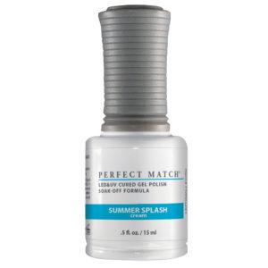 half ounce bottle of Perfect Match Summer Splash